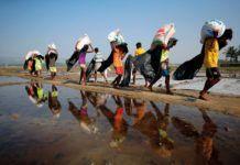 éxodo en Birmania