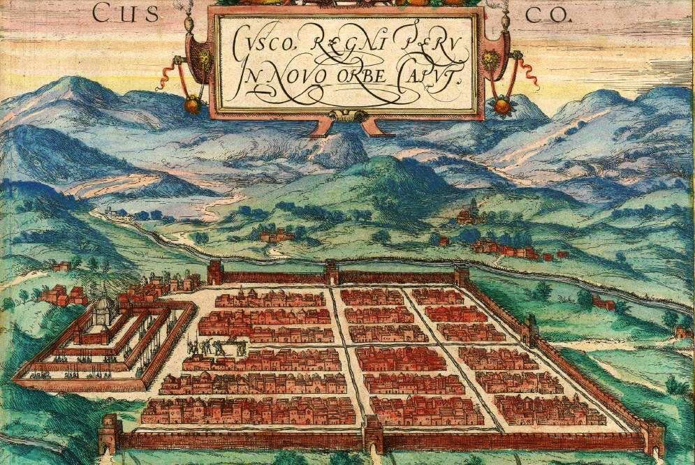 La ciudad de Cuzco.