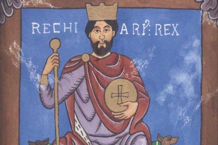 Requiario, primer monarca suevo en convertirse al catolicismo.