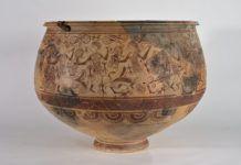 Vaso de los Guerreros, Museu Prehistòria de València.