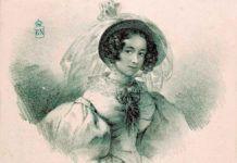 """""""Retrato de Rosario Weiss y Zorrilla"""", por Rosario Weiss, Madrid, Biblioteca Nacional."""