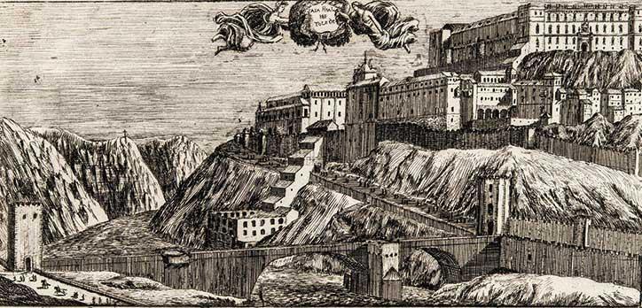 """""""Puente de Alcántara"""", Toledo Alguacil fº; Casiano Alguacil, 1870?. BNE, 17/LF/252 (24)."""