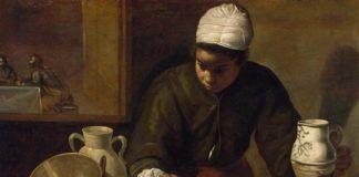 """La mulata"" o ""La cena de Emaús"", de Diego Velázquez."