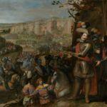 """""""Expugnación de Rheinfelden"""", por Vicente Carducho, 1634, Museo del Prado. Óleo que conmemora la liberación de esta ciudad suiza por los tercios al mando del duque de Feria."""