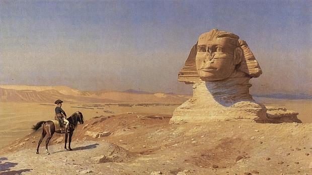 Napoleón en Egipto.