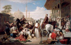 Mercado de esclavos, por Allan David, 1838.