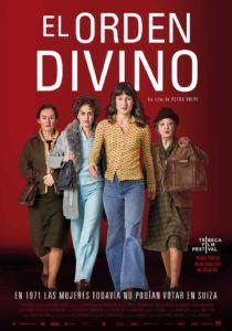 """Cartel de """"El orden divino"""", película dirigida por Petra Volpe y distribuida por Surtsey Films."""