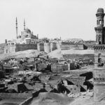 La ciudadela de El Cairo en el siglo XIX.