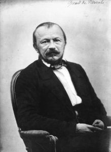 Gérard de Nerval, fotografiado por Félix Nadar en 1820.