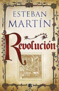 """Portada de """"Revolución"""", de Esteban Martín."""