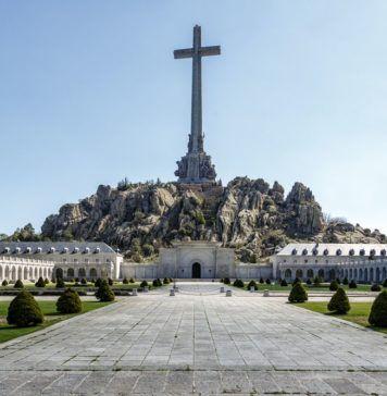 Vista general del Valle de los Caídos.