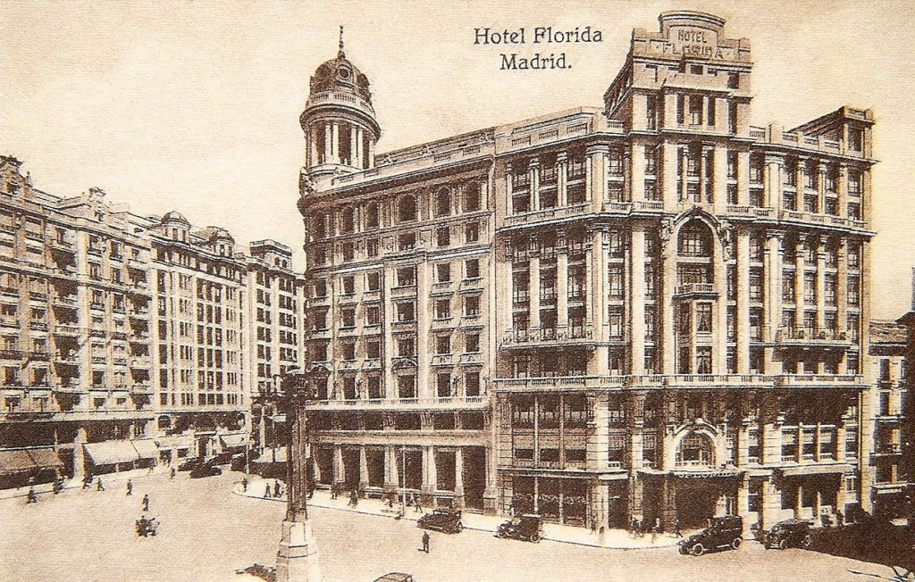 Estampa del Hotel Florida.