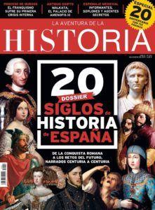"""Portada del número 241 de la revista """"La Aventura de la Historia""""."""