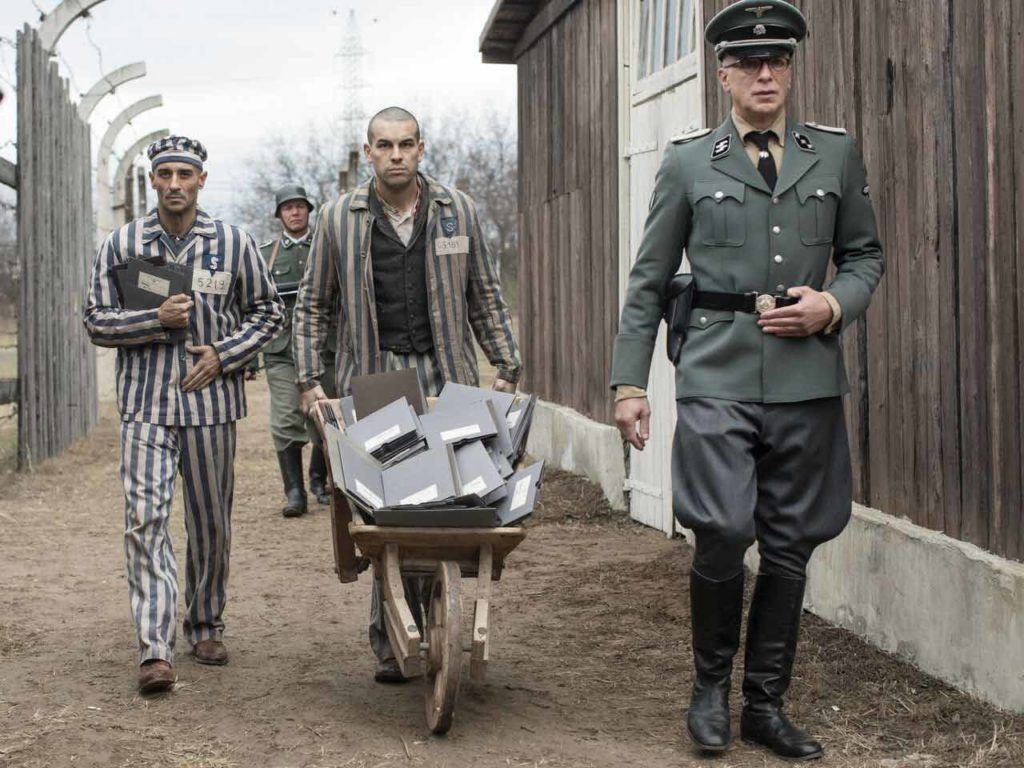 "Fotograma de ""El fotógrafo de Mauthausen""."