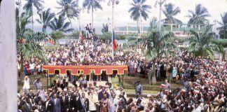 12 de octubre de 1968. Independencia de Guinea Ecuatorial © Rafael Calatayud Sauco / La Aventura de la Historia.