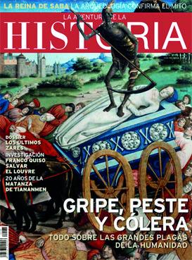 "Portada del número 128 de ""La Aventura de la Historia""."