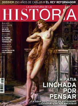"Portada del número 131 de ""La Aventura de la Historia""."