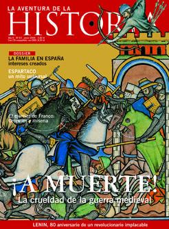 "Portada del número 63 de ""La Aventura de la Historia""."