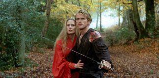 """Fotograma de """"La princesa prometida"""". Cary Elwes y Robin Wright, en los papeles de Westley y la bella Buttercup."""