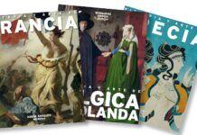 """Algunas de las portadas de la colección """"Historia y Arte de Europa"""""""