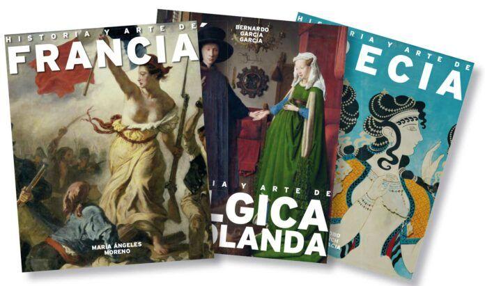Algunas de las portadas de la colección
