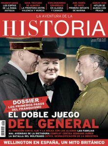 "Portada del número 245 de ""La Aventura de la Historia""."
