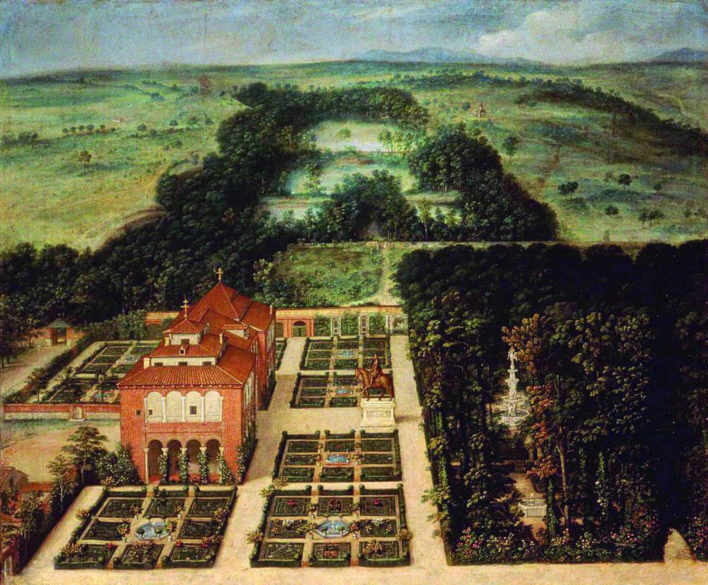 La Casa de Campo en el sigloXVII, óleo de Félix Castello, 1634, Museo de Historiade Madrid (depósito del MAN)