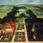 La Casa de Campo en el siglo XVII, óleo de Félix Castello, 1634, Museo de Historia de Madrid (depósito del MAN).