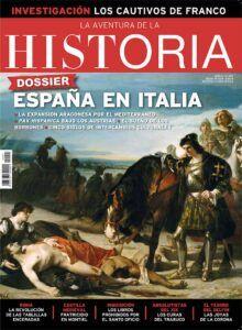 """""""El Gran Capitán contemplando el cadáver del duque de Nemours"""", en la portada del número 247 de """"La Aventura de la Historia"""", dedicada a la presencia de España en Italia."""