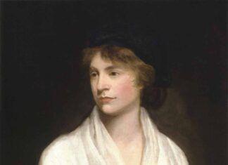 Retrato de Wollstonecraft realizado por John Opie hacia 1797.