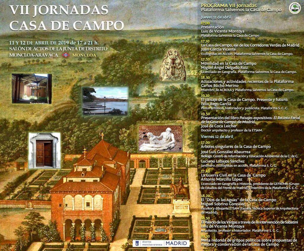 """VII Jornadas Casa de Campo con la exposición de """"El Dios de las Aguas"""" de Miguel Sobrino González"""