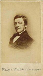 """El apoyo y la influencia de Ralph W. Emerson fue clave para que """"Hojas de hierba"""" triunfase."""