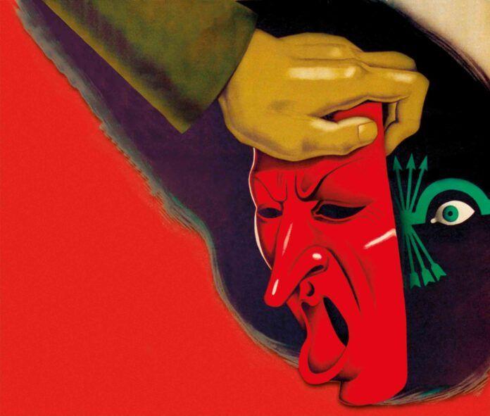 Cartel republicano instando a desenmascarar a los integrantes de la quinta columna, en la portada del número 248 de