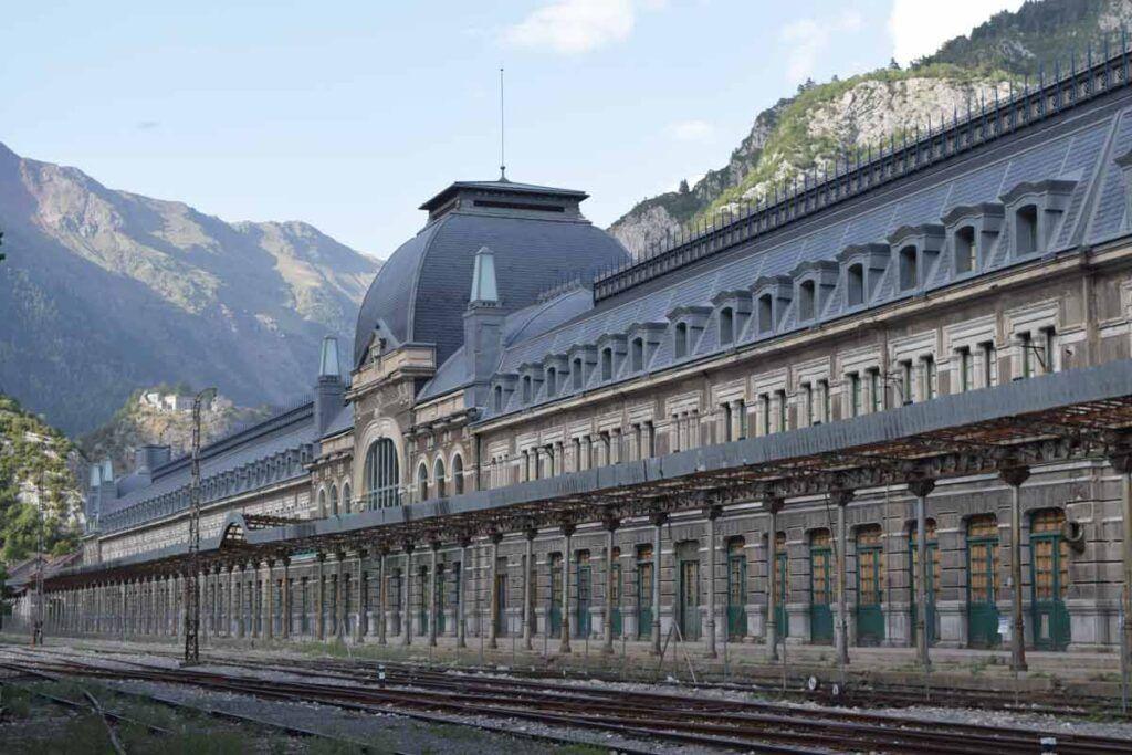 Estación de Canfranc.