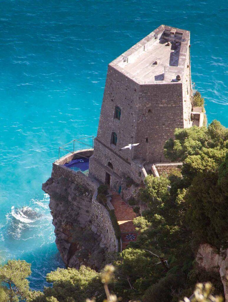 Torre Vigía de Amalfi.