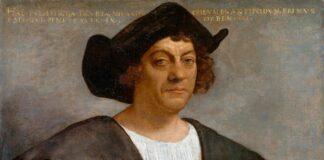 """""""Retrato de un hombre, atribuido a Colón"""", por Sebastiano del Piombo, hacia 1519, Nueva York, Metropolitan Museum."""