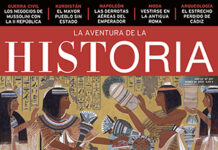 """Portada del número 257 de la revista de historia """"La Aventura de la Historia"""", dedicada a Egipto eterno."""