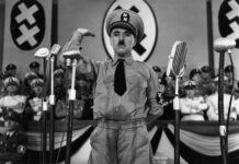 """Charles Chaplin, en la película """"El gran dictador""""."""