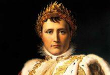 """Retrato de """"Napoleón Bonaparte, emperador"""" (detalle), por François Pascal Simon Gerard, 1805."""